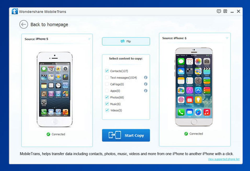 transfer data to new iphone wondershare mobiletrans strongmaxi 6902