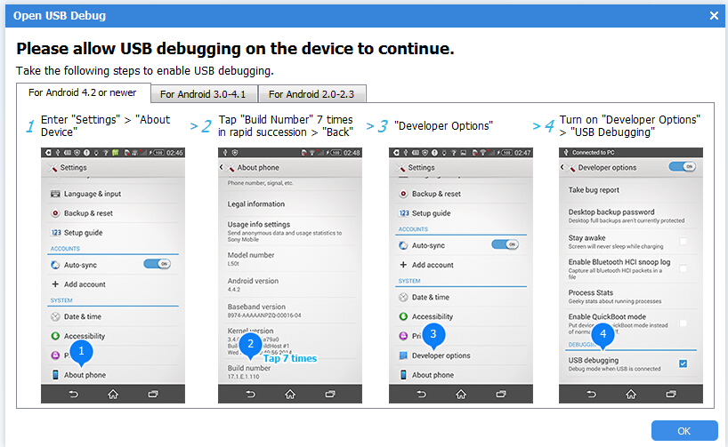 How to Enable USB Debugging Mode on Samsung